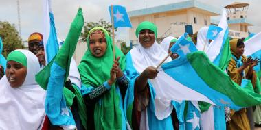 Women have had much to gain from Somalia's new Federal Constitution, whose drafting and implementation has benefited from IDLO's expertise. Article 15, for example, explicitly forbids female genital mutilation. Additionally, in 2013, a National Gender Policy was created. IDLO has meanwhile worked with government officials and tribal elders to identity and strengthen pro-women elements in Xeer, the customary justice system used by a large majority of Somalis.