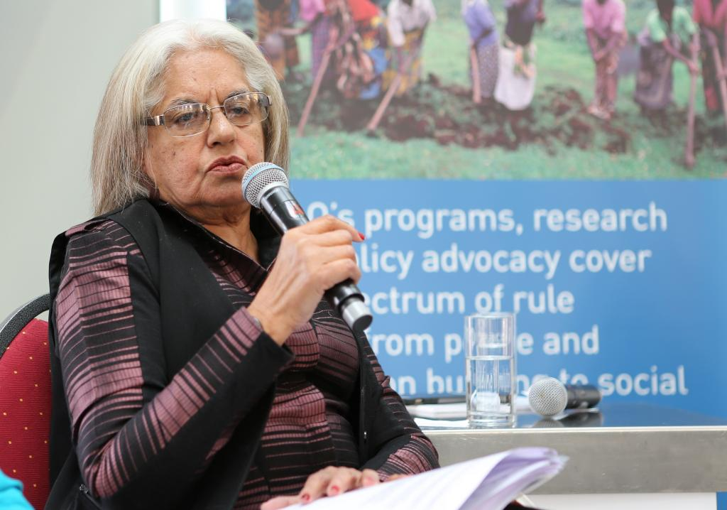 Indira Jaising, first woman Additional Solicitor General, India
