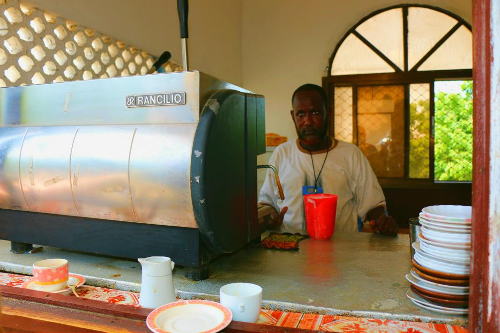A cafe at the Parliament building would be an unremarkable sight in most countries, but such 'normalcy' is very recent in Somalia. The country's Federal Parliament has only existed since 2012. As conventional elections could not be held, MPs were selected to broadly reflect Somalia's various interests and constituencies, and their credentials were vetted by a technical committee. 30 percent of the seats are reserved for women.