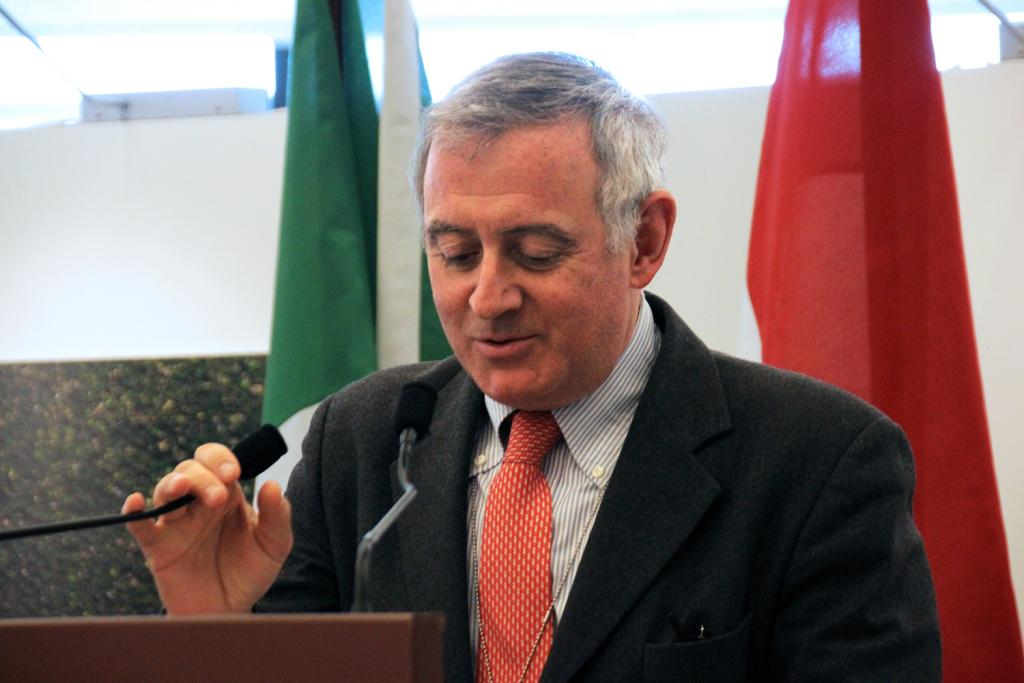 Amedeo Trambajolo, Chargé d'Affaires of the Permanent Mission of Italy to the UN
