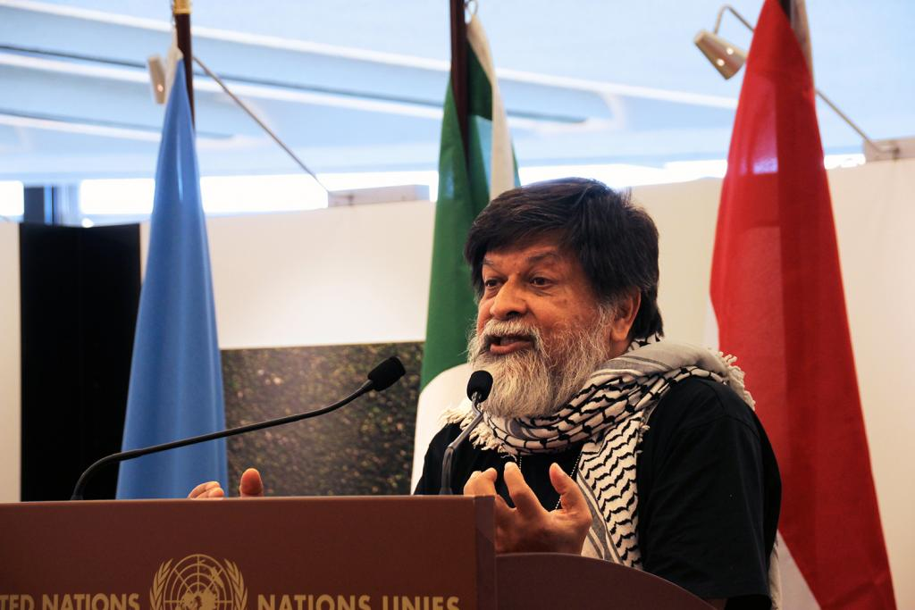 Shahidul Alam, photographer and founder of Majority World Photo Agency