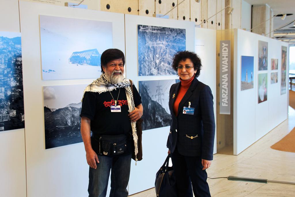 Shahidul Alam and Irene Khan